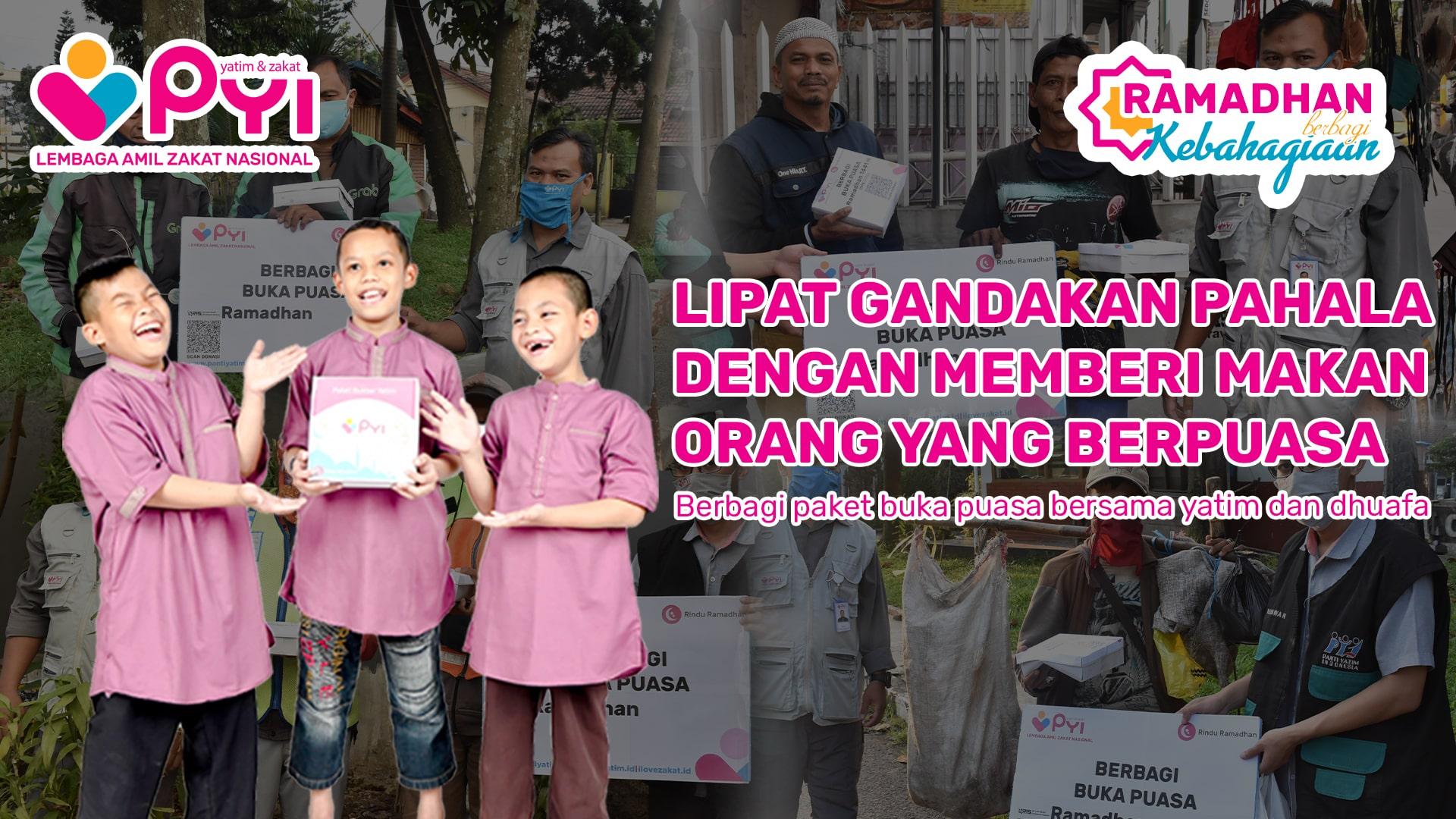 Berbagi Buka Puasa dan Sahur bersama Panti Yatim Indonesia